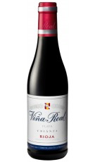 Mini botella Viña Real Crianza 37,5cl