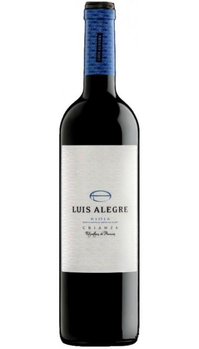 Luis Alegre Crianza Viticultura de precisión 2013