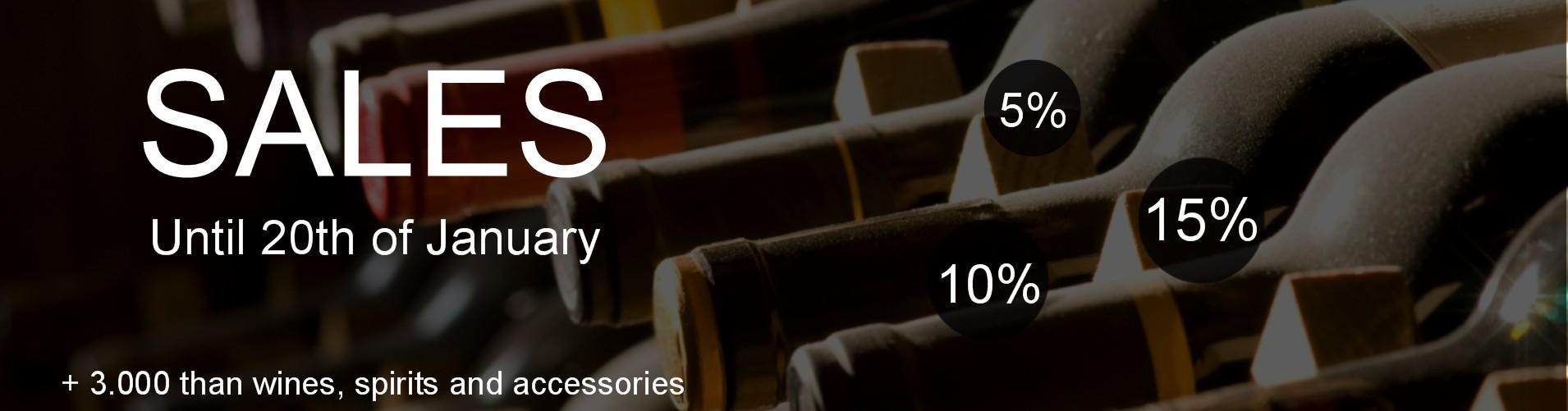 Sales - More than 3.000 wines - mundovinum.co.uk