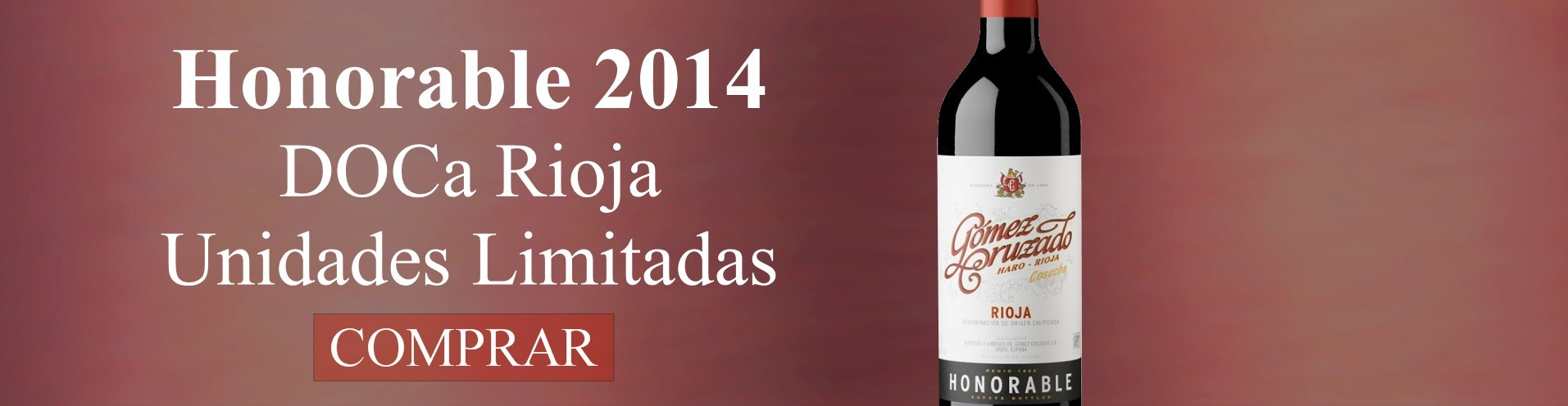 Honorable 2014 - Buy Wine DO Rioja